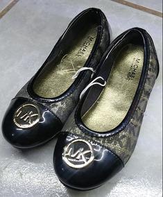 0dc60cf6c Zapatos Michael Kors De Bebe - Zapatos para Niñas Negro en Mercado ...