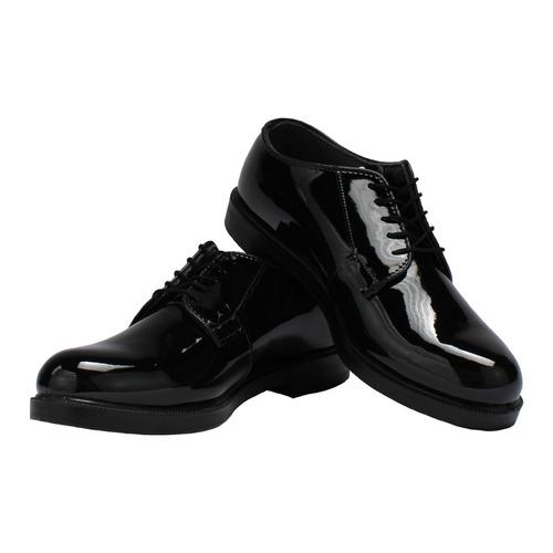 zapatos militares bates charol ultralivianos