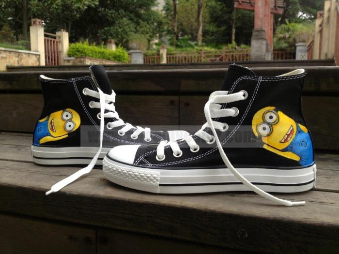 1 Hecho Mano A Marca Diseño Original Zapatos Minions DI29WEH