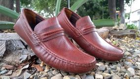 2bee0ccf Zapatos En Cuero Hombre Bossi - Mocasines para Hombre en Mercado ...