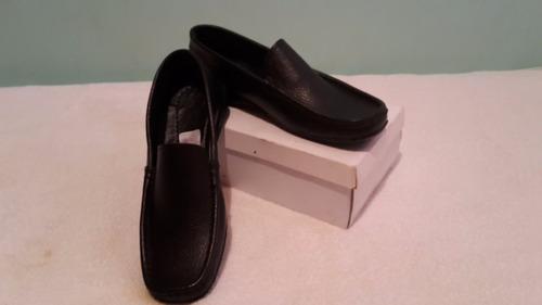 zapatos mocasín dama semicuero