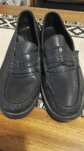 zapatos mocasine de hombre con pomada de regalo