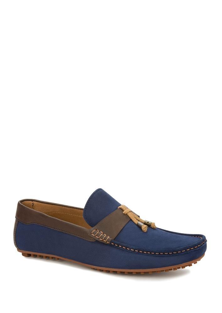 diseño de calidad c57a0 a43f1 Zapatos Mocasines Azules Hombre Ferrato 2516127