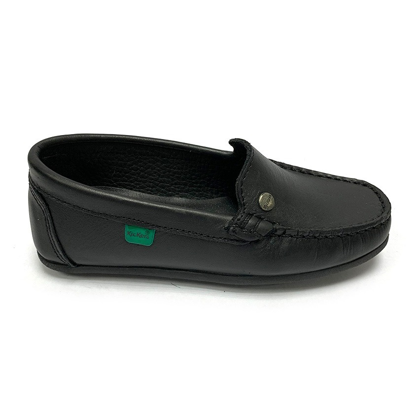 7e984dd0c26 Zapatos Mocasines Colegiales Kickers Niña Neg Ki 9070 Corpez - Bs ...