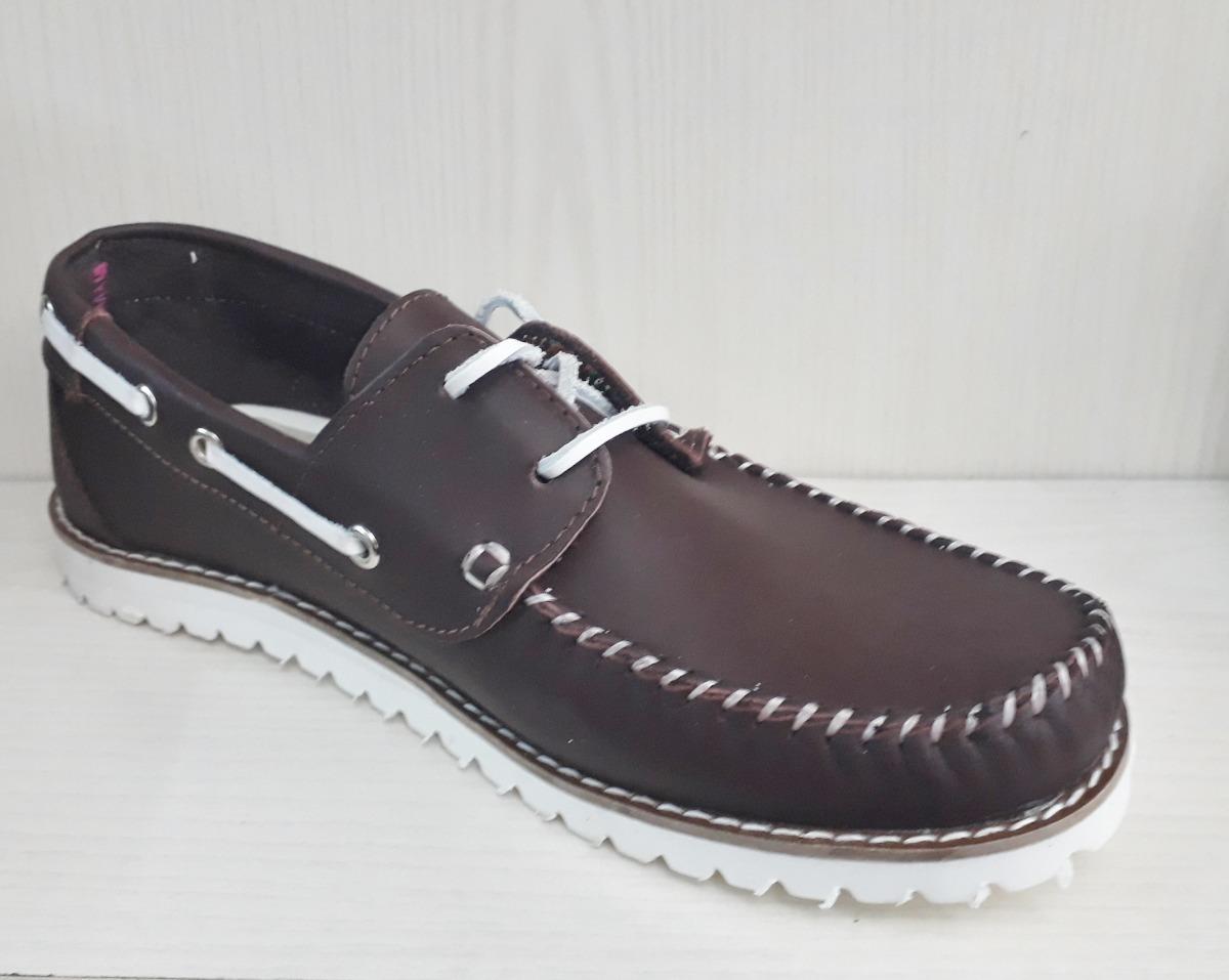 venta caliente online e549c c3bf2 Zapatos Mocasines Cuero - Hombre! Con Cordones Envios Oferta