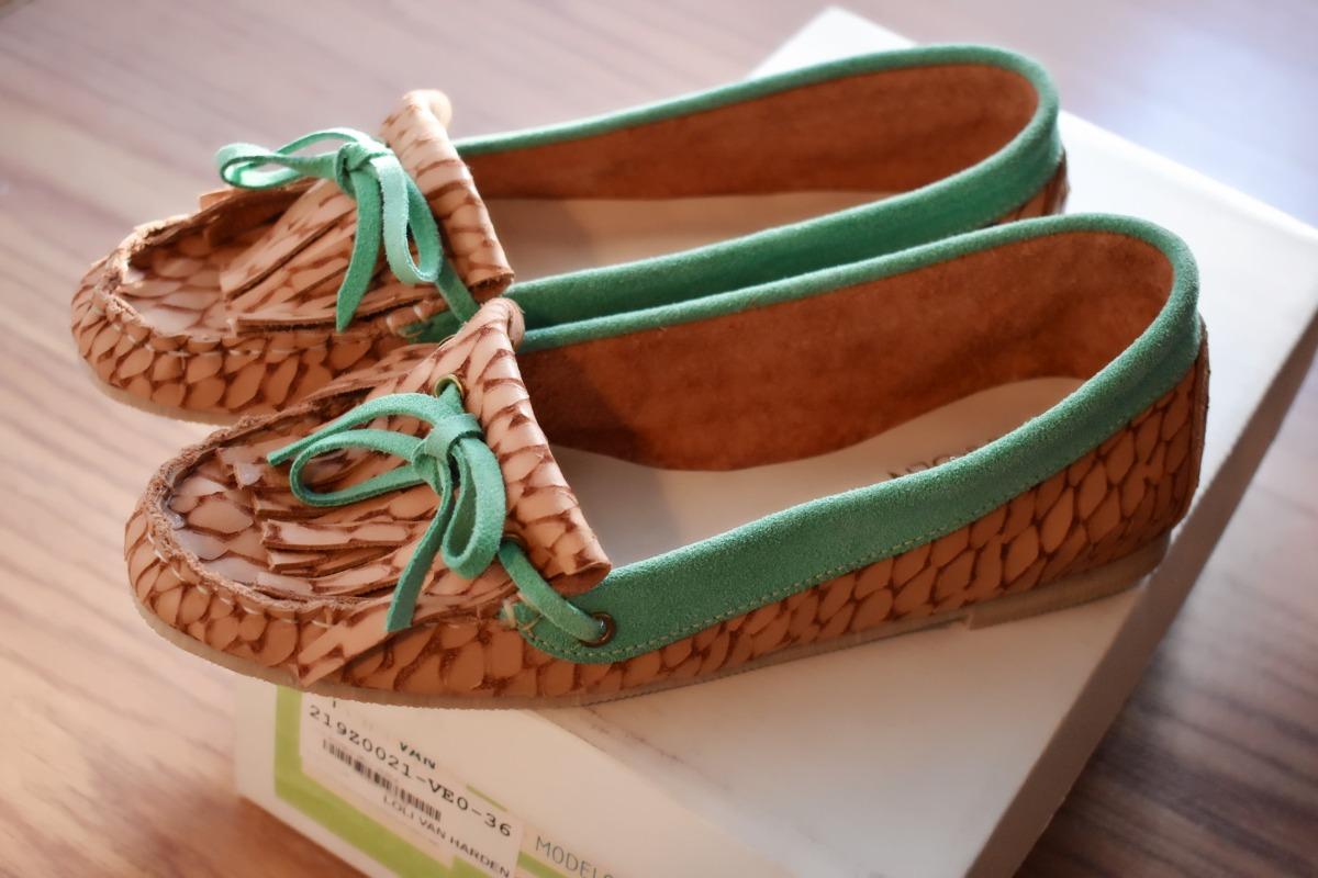 00 Zapatos Nuevos Loli Van 600 En Harden Mocasines Cuero wXqpxFnr0X