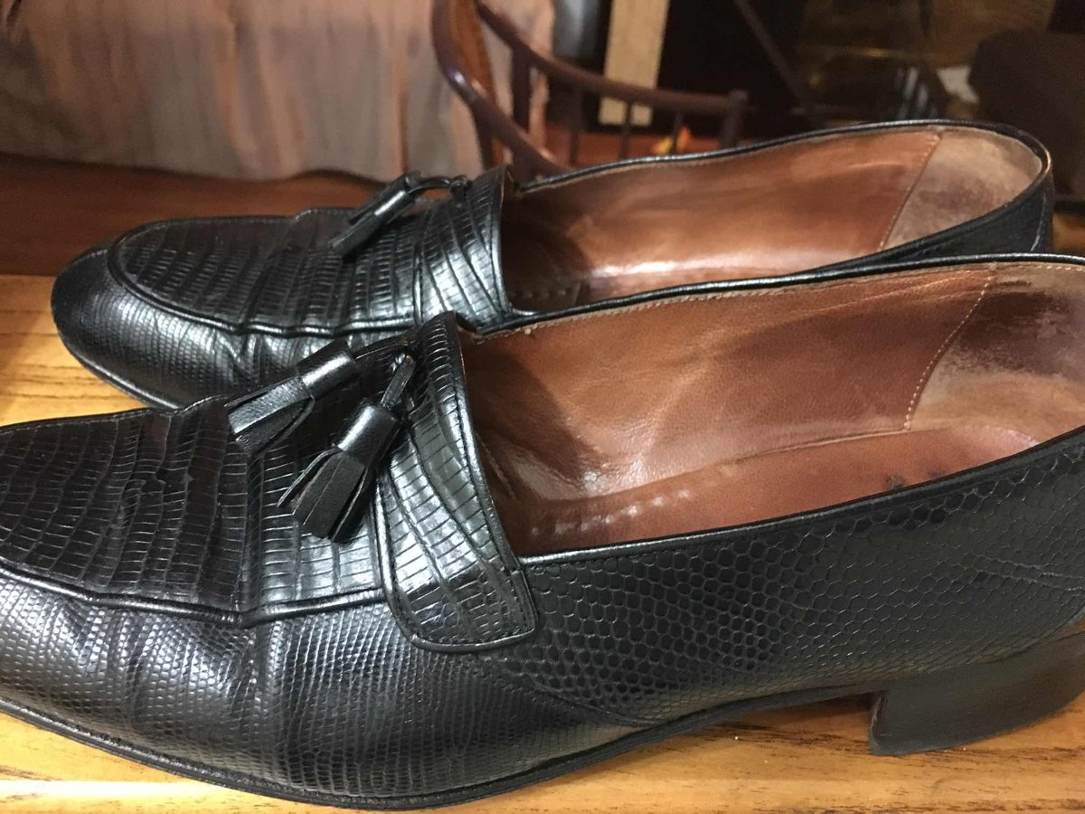 De Verdadero 00 Hombre Mocasines Zapatos Reptil 422 Talle 000 KlF1cuTJ3