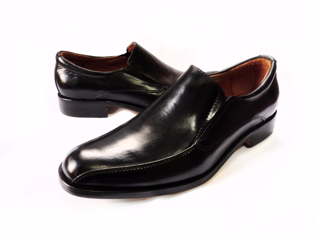b69816bef2b zapatos mocasines de vestir tipo italiano en cuero. Cargando zoom.