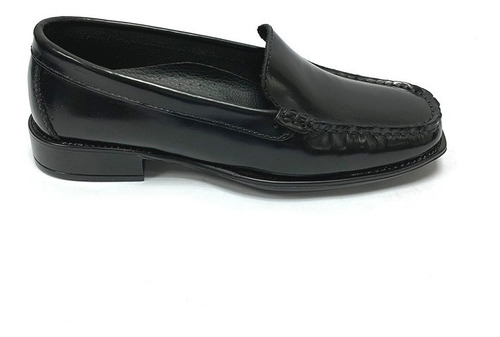 zapatos mocasines full time dama negro ft 0102 corpez 35