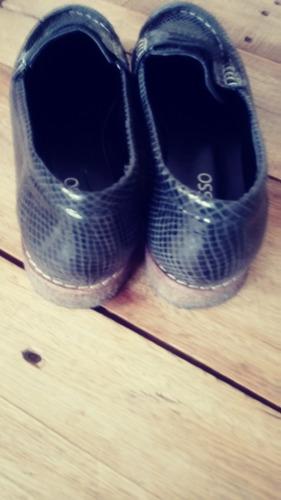 zapatos mocasines marca adesso azules