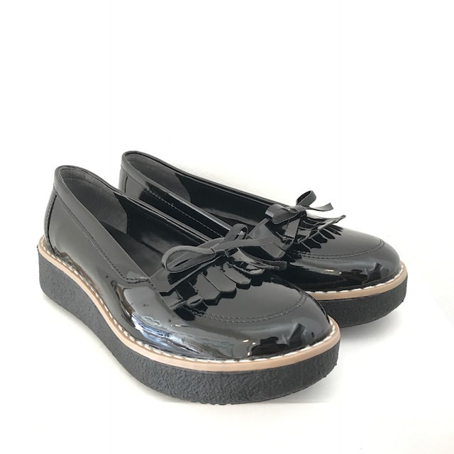 138bde0b95c58 Zapatos Mocasines Mujer Charol Chatitas Plataforma Monakia -   799 ...