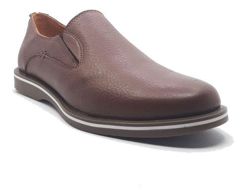 zapatos mocasines nauticos hombre cuero benicio tibay