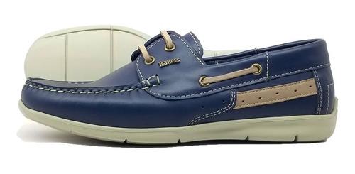 zapatos mocasines nauticos hombre cuero nando tibay