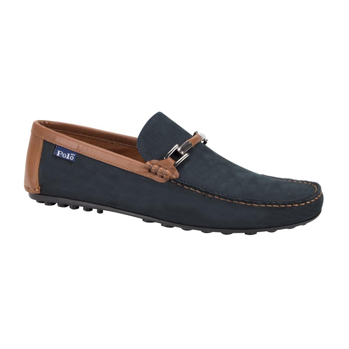 materiales de alta calidad venta caliente más nuevo detallado Zapatos Mocasines Para Hombre Marca Hpc Polo