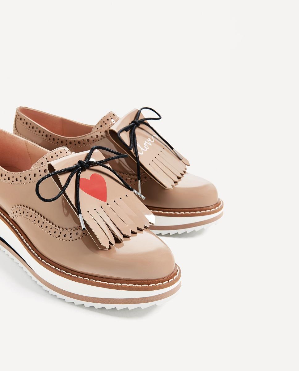 Zapatos 3 1 Importados A En Zara Pedido Mocasines Plataforma BwgqrxaB