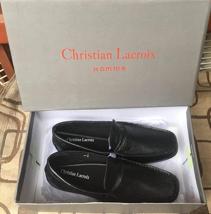 e63d4b5d47e8b Zapatos Mocasines Vestir Christian Lacroix 100% Cuero Hombre - S ...
