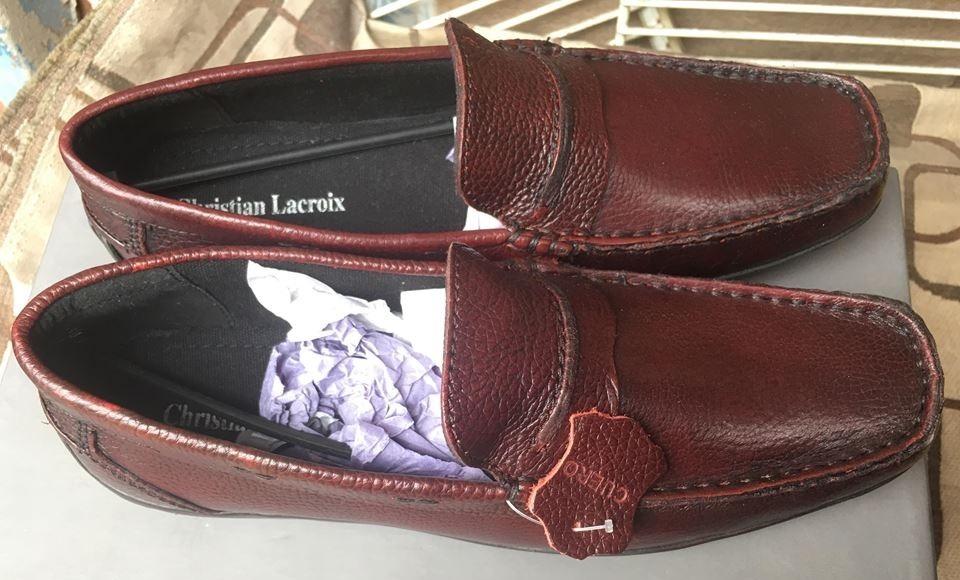 bbd93d375034c zapatos mocasines vestir christian lacroix 100% cuero hombre. Cargando zoom.