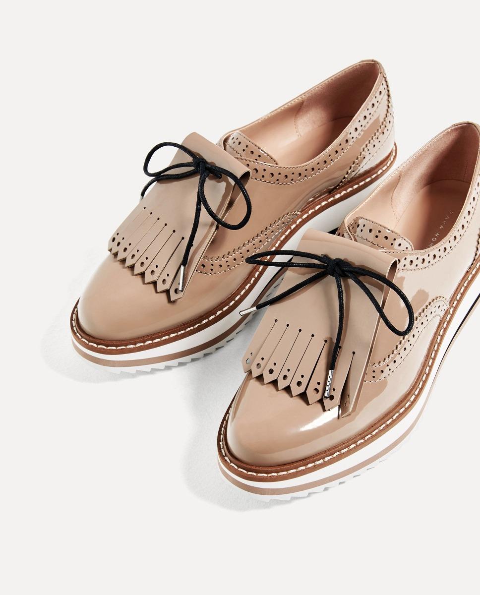 1 Zapatos Plataforma Pedido A Importados En Zara 3 Mocasines ymwPv0N8On