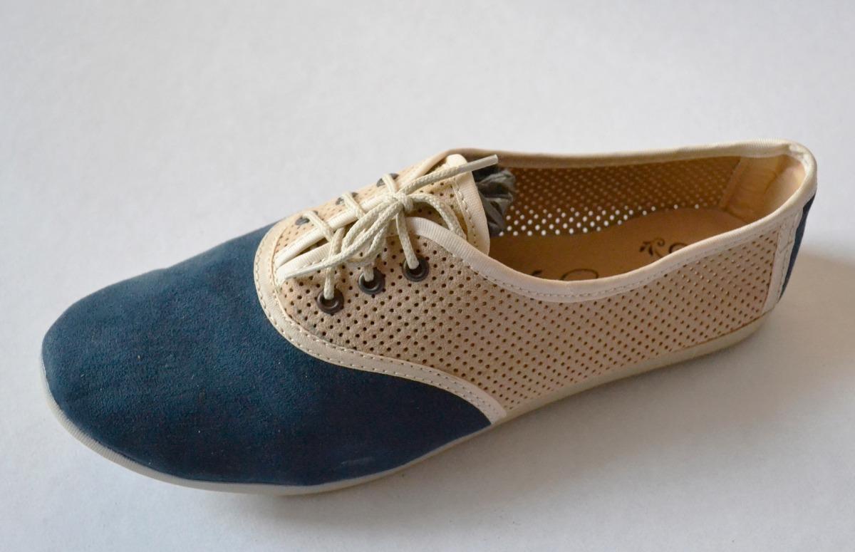 Rzwrqn1p Bajos 299 En Mujer Mocasines 00 Azul Zapatos Beige Casuales wkP08OnX