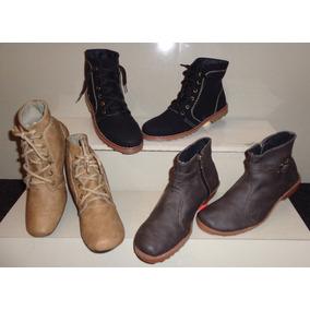 d7fd4d2bea Botines Corte Alto Hasta La Rodilla - Zapatos Mujer Botas en Mercado ...