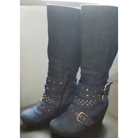 e19ad496e6857 Zapatos De Jeans Para Damas - Zapatos Mujer Botas en Mercado Libre ...