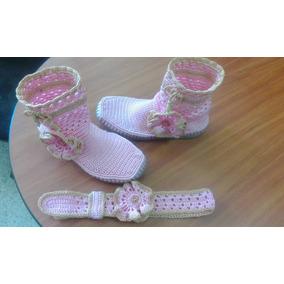 e7186299cd1 Lazos Tejidos Bebes - Zapatos en Mercado Libre Venezuela