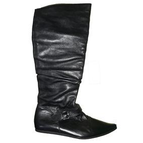 5bf7a3dbe555e Bota Cuero Colombiana - Zapatos Mujer Botas en Mercado Libre Venezuela