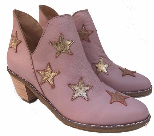 zapatos mujer botas charrito texanas  nude  moda 2018