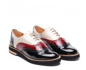 en venta la compra auténtico calidad superior Zapatos De Camarera Mujer - Mocasines y Oxfords Bordó en ...