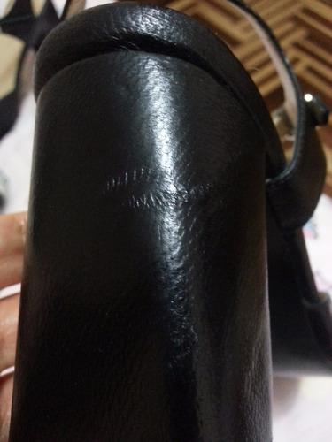zapatos mujer cuero negro talla 38 stefano cocci lima