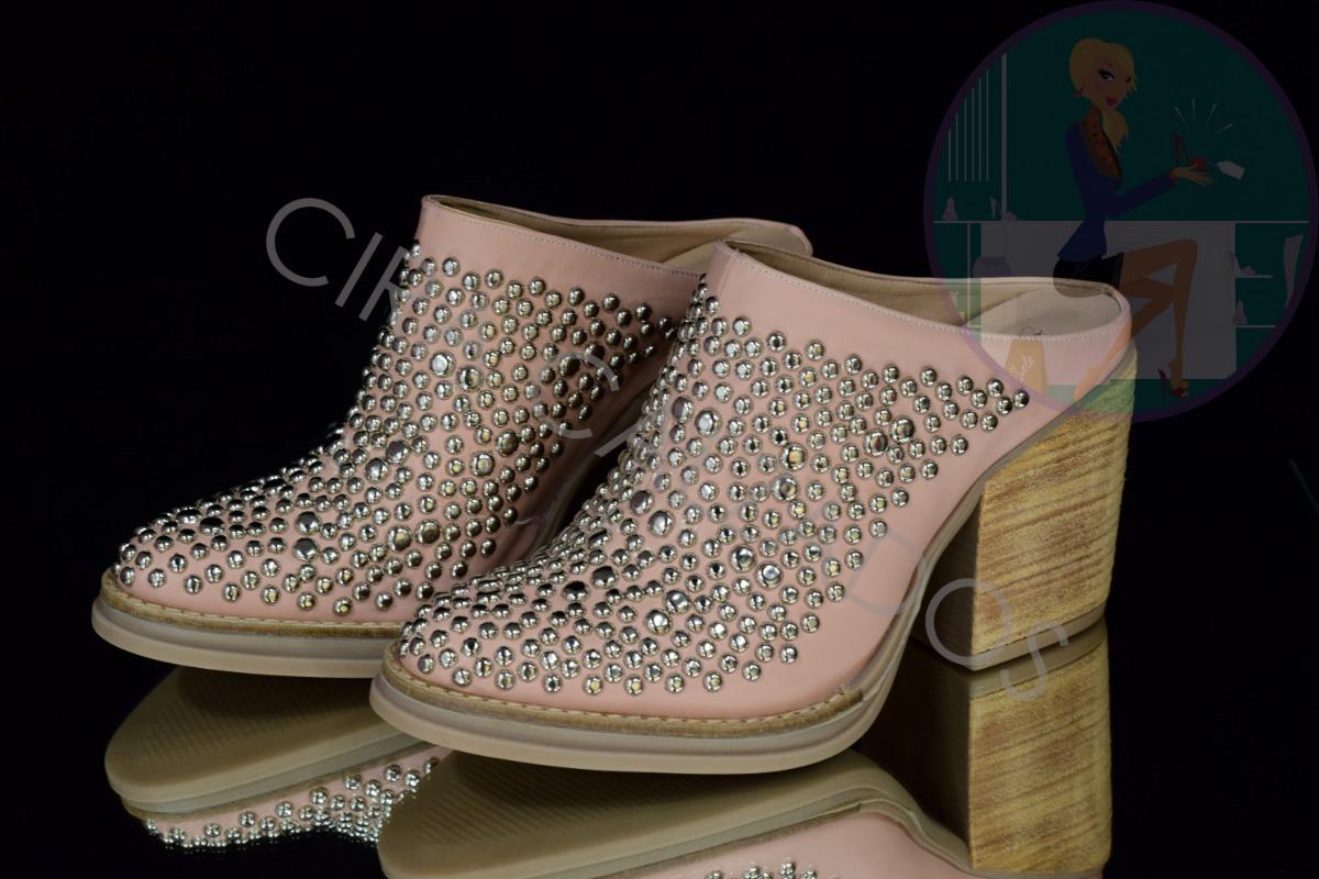 fd45690b zapatos mujer cuero tachas primavera verano 2019 art donna. Cargando zoom.