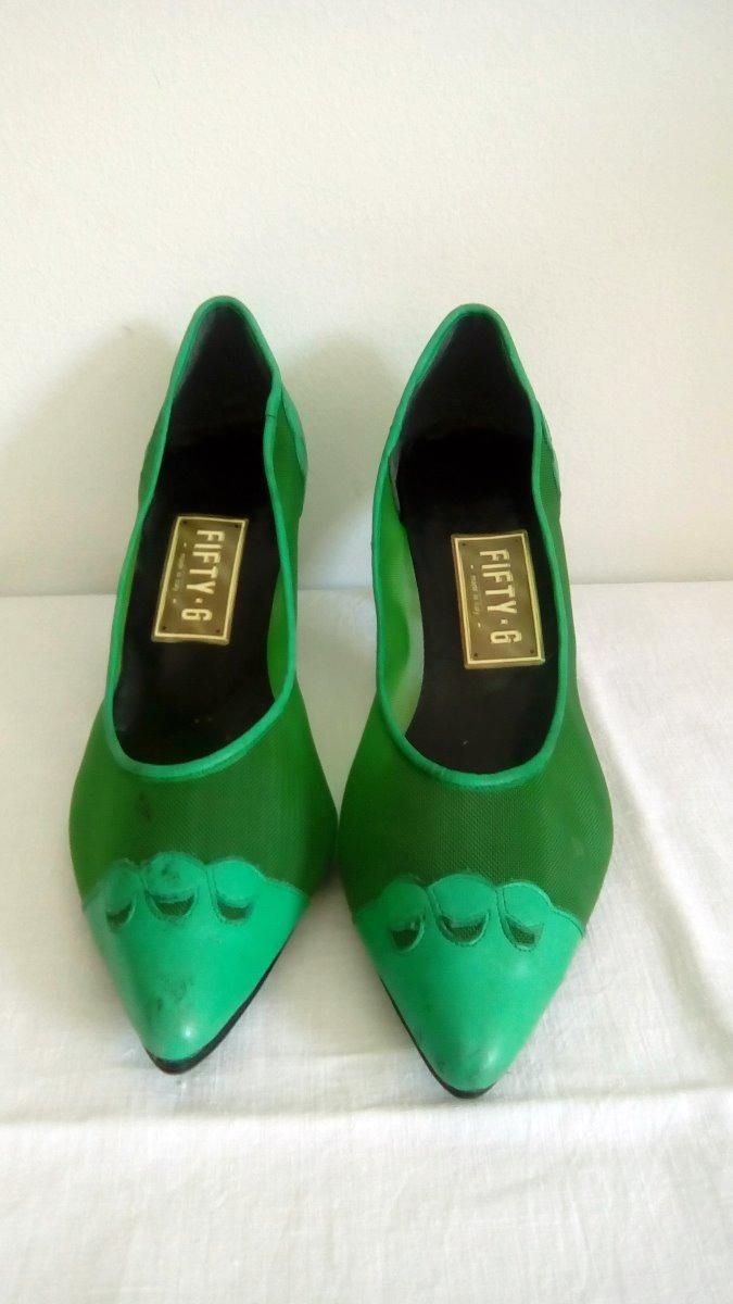 Y N° 35400 Zapatos Tela 00 Calada Cuero Mujer L4Rjq5A3