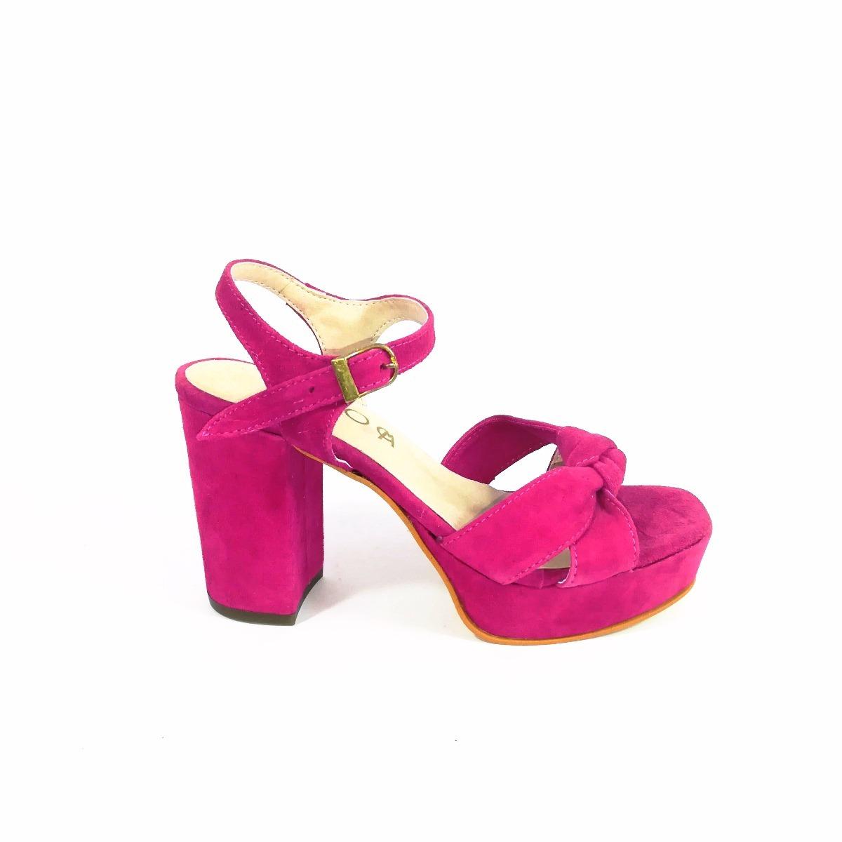 muchos estilos características sobresalientes barato mejor valorado Zapatos Mujer - Gamuza Fucsia - Vestir - Calidad