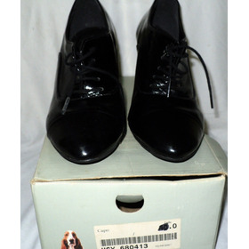 Zapatos Mujer Hush Puppies N| 36 Stilettos 8 Cm Charolados