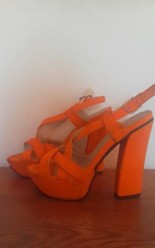00 700 Naranja Mercado Libre Zapatos Mujer En tqBwnaE