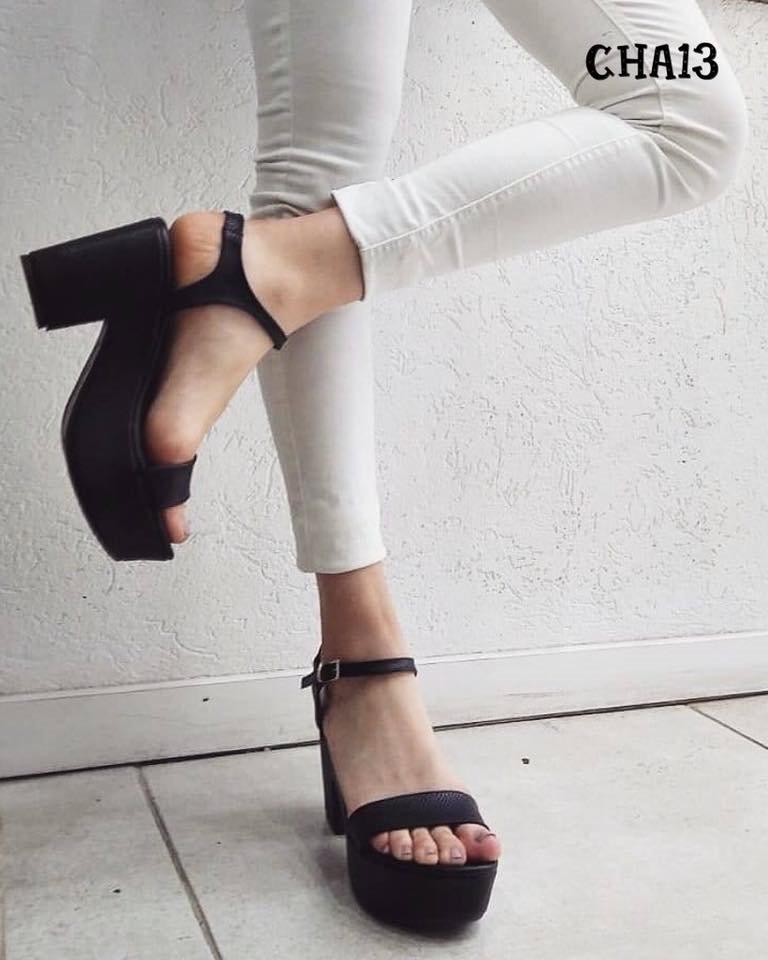 49dda6229 Zapatos Mujer Plataforma Sandalia Taco Palo Pu Art Cha13 -   1.260 ...