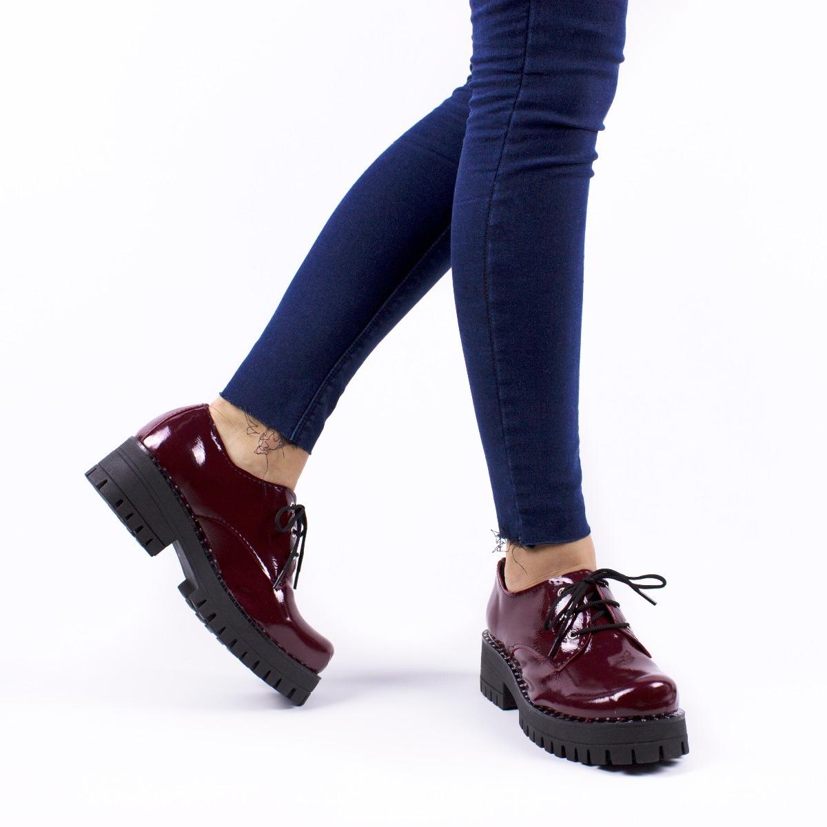 23d8d1bde4 zapatos mujer plataforma nuevos charol invierno 2018. Cargando zoom.