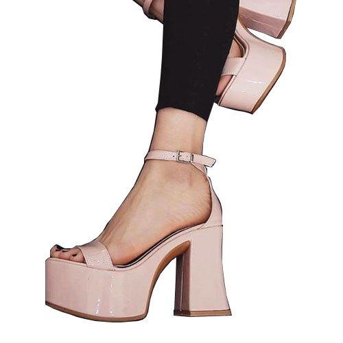 2a737d6f5 zapatos mujer plataforma sandalia taco palo charol art h66 c · zapatos  mujer plataforma. Cargando zoom.