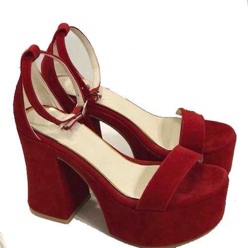 65ad6cfb0 zapatos mujer plataforma sandalia taco palo gamuza art h66 g · zapatos  mujer sandalia. Cargando zoom.