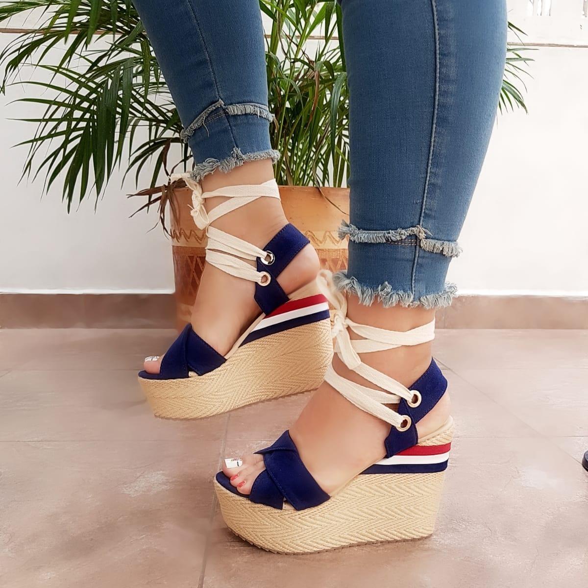 a3e605d7 Zapatos Mujer Plataforma V Envio Gratis - $ 80.000 en Mercado Libre