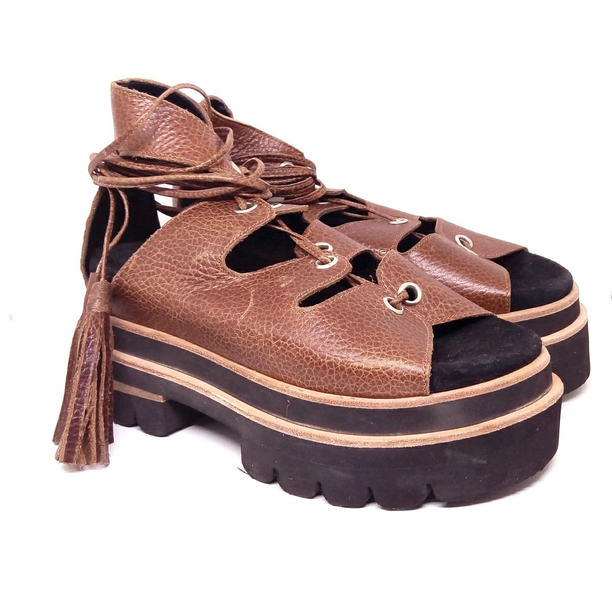 3d09fa8a40 zapatos mujer sandalias cuero gladiadoras maggio rossetto. Cargando zoom.