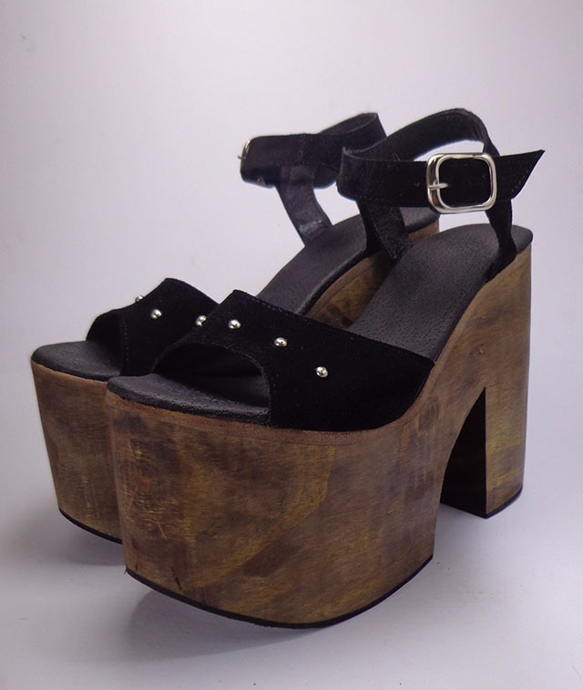 e297d64fae1 Zapatos Mujer Sandalias Madera Plataforma Verano 2018 -   999