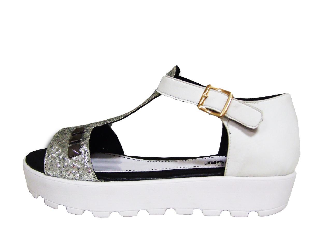 Mujer 2016 Plataforma Baja Zapatos Moda Sandalias P0wOnk