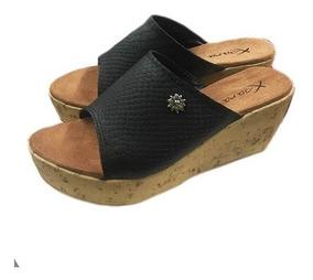 Zapatos Plataforma Mujer Chino Sandalias Taco Con Cuero PwOn0kX8
