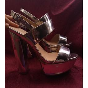 5b57bd5611d Tacones Dorados Qupid Plataforma - Zapatos Mujer en Mercado Libre ...