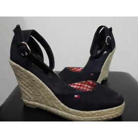 2fc424f8c4352 Sandalias De Cuña Tommy - Zapatos en Mercado Libre Venezuela