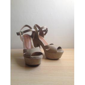De Tacones Blanca Plataforma Mujer En Zapatos Suela Sandalias tshrQd