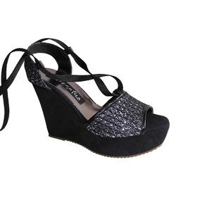 c5a883e667 Sandalias Plateadas Bajas Con Strass - Zapatos en Mercado Libre Venezuela