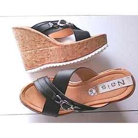 Zapatos En Cuñas Mujer Negras Cerradas Venezuela Libre Mercado 4ALj5R3