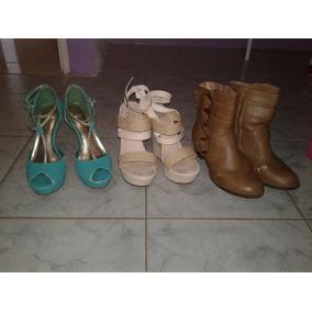 07dbcdf9 Tacones Plataforma Tipo Botines - Zapatos en Mercado Libre Venezuela
